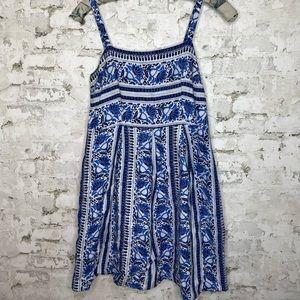 LOFT Mediterranean Flare Dress